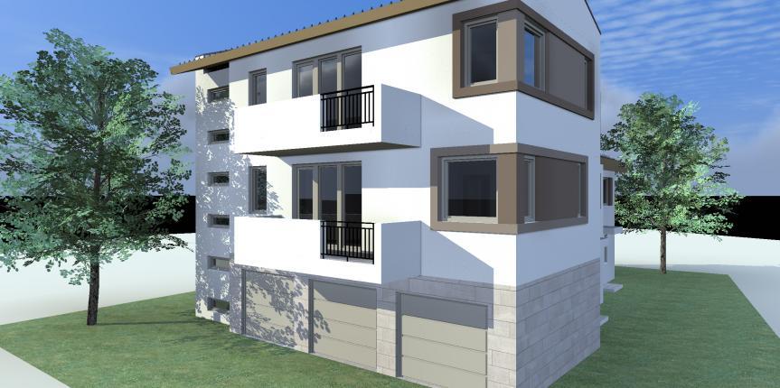 Négylakásos lakóépület, Dunakeszi (2012)